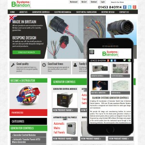 Magento based e-commerce Website for stroud electrical engineering company