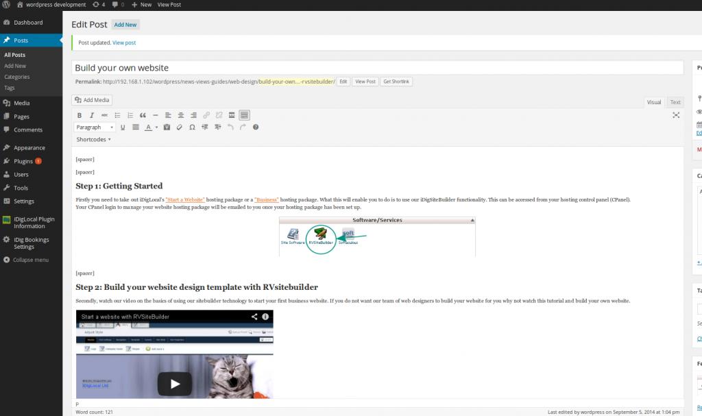 Post Window WordPress4.0