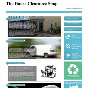 Fast static website for Cheltenham house clearance business
