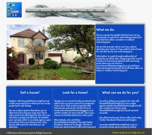 Estate agents website with XML property feed and membership