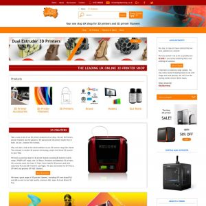 E-commerce website developed in wordpress for Gloucestershire Technology online store