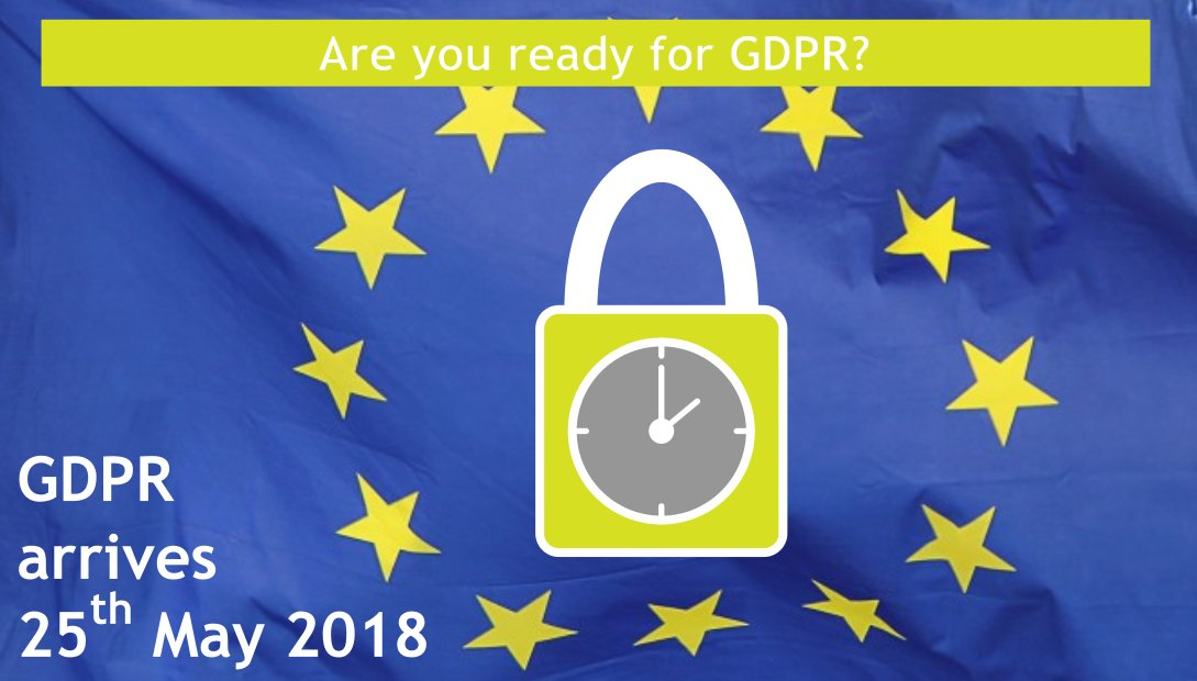Is your website GDPR 2018 ready?