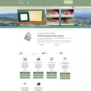 An e-commerce website in Opencart for a retail company based in Cirencester