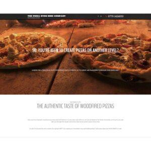 Wordpress website design with parallax scrolling effect